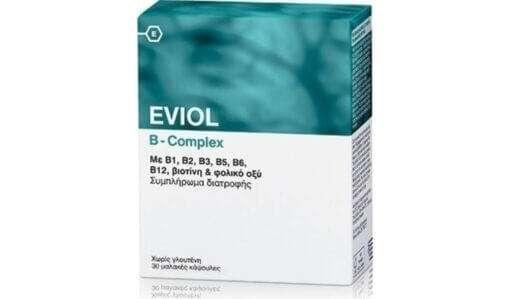 Eviol B Complex, σύμπλεγμα βιταμινών Β, νευροτονοτικό, φαρμακείο online