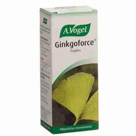 A.VOGEL GINKGOFORCE 50 ML, βάμμα ginkgo biloba γκίνγκο, εγκέφαλος, φυτοθεραπεία, βότανα, συμπλήρωμα, άννοια, φαρμακείο