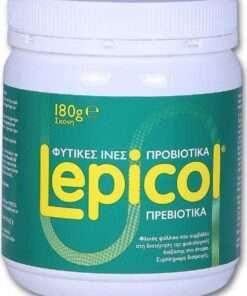 Protexin Lepicol 180g, φυτικές ίνες, ψύλλιο, psyllium, ινουλίνη, προβιοτικά, πρεβιοτικά, συμπλήρωμα διατροφής, δυσκοιλιότητα, φαρμακείο