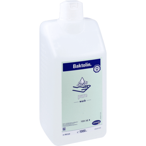 Hartmann Baktolin Pure 1000ml, υποαλλεργικό, χωρις sls, ουδέτερο pH, ευαίσθητο δέρμα, καλλυνικά, φαρμακείο