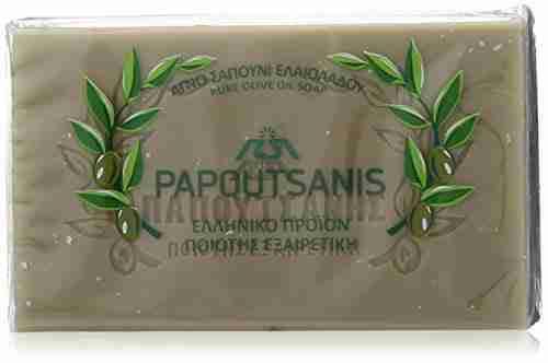 Papoutsanis Πράσινο σαπούνι ελαιολαδου 125g, πράσινο σαπούνι, μπάρα σαπούνι, σαπούνι ελιάς, φαρμακείο, παπουτσάνης