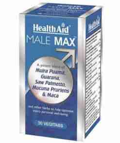 Male Max Health Aid, Ενέργεια, σεξουαλική απόδοση, φυτοθεραπεία, ουροποιητικό, φαρμακείο