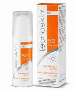Tecnoskin Sun Protect Fluid Λεπτόρευστο Αντηλιακό