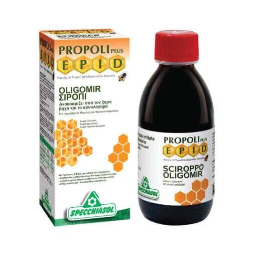 Oligomir Φυτικό σιρόπι για τον ξηρό βήχα