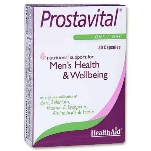 Prostavital Φυτικό Συμπλήρωμα για την καλοήθη υπερπλασία προστάτη