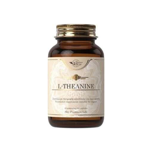 L-theanine φυσικό αμινοξύ για άγχος και στρες